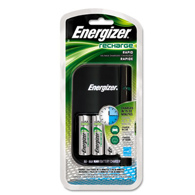 Energizer e2 Rechargeable NiMH 15-Minute Battery Charger