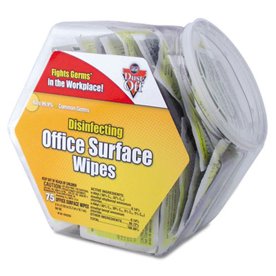 Dust-Off Disinfecting Wipes Office Surface Wipes