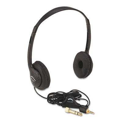AmpliVox Personal Multimedia Stereo Headphones with Volume Control