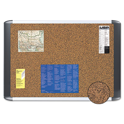 MasterVision Tech Cork Board