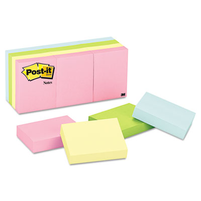 Post-it Notes Original Pads in Pastel Colors