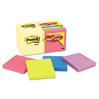 Post-it Notes Original Pads Assorted Value Packs