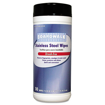 Boardwalk Stainless Steel Wipes