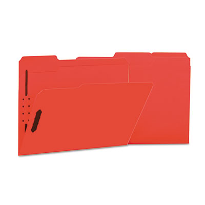 Universal One Reinforced Top Tab Folders with Fasteners