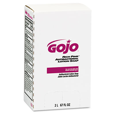 GOJO RICH PINK Antibacterial Lotion Soap