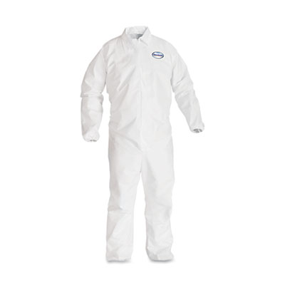 KIMBERLY-CLARK PROFESSIONAL* KLEENGUARD* A40 Elastic-Cuff Coveralls