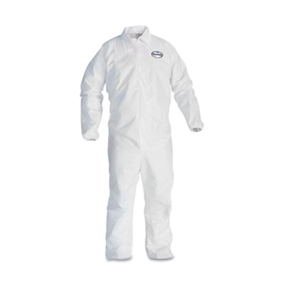 KIMBERLY-CLARK PROFESSIONAL* KleenGuard A40 Liquid & Particle Protection Coveralls 44314
