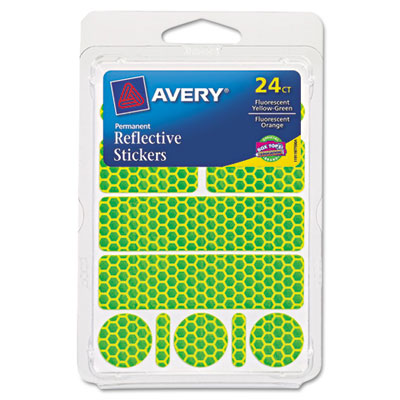 Avery Permanent Reflective Stickers