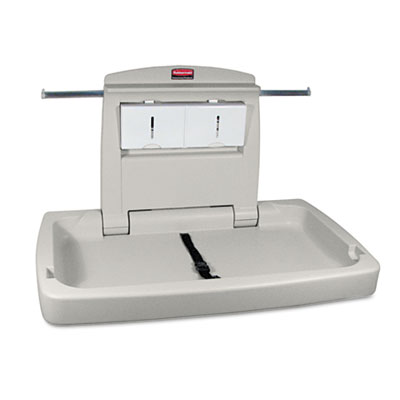 Rubbermaid Commercial Horizontal Baby Changing Station