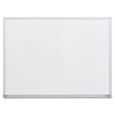 Universal White Melamine Dry Erase Boards with Aluminum Frame