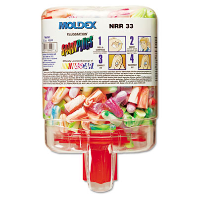 Moldex SparkPlugs Single-Use Earplugs