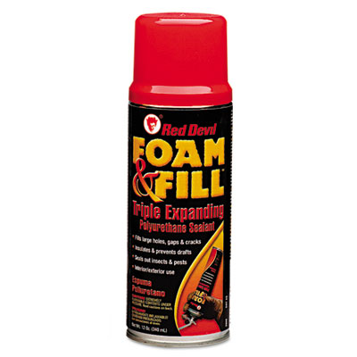Red Devil Foam & Fill Expanding Polyurethane Sealant