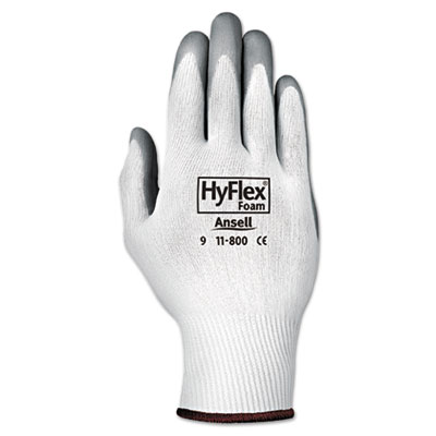 AnsellPro HyFlex Foam Nitrile-Coated Nylon-Knit Gloves