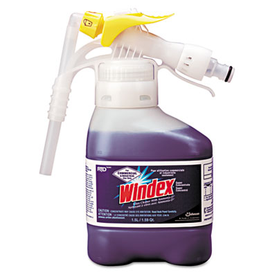 Windex Super-Concentrated Ammonia-D Glass Cleaner RTD