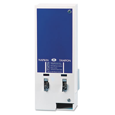 Hospital Specialty Co. Electronic Dual Sanitary Napkin/Tampon Dispenser