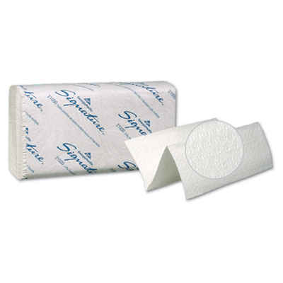 Georgia Pacific Professional Signature Two-Ply Folded Paper Towels