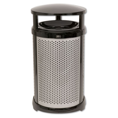 Rubbermaid Commercial Infinity Waste Container Dome Top with Base