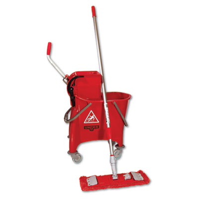 Unger Side-Press Restroom Mop Bucket FloorPack