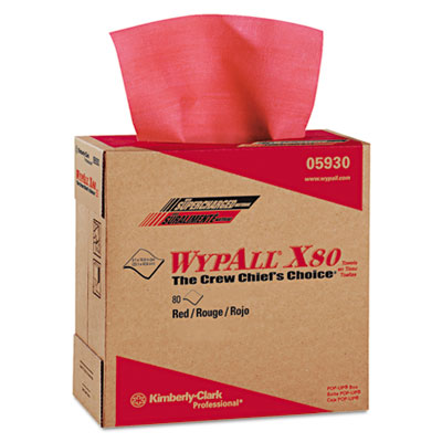 KIMBERLY-CLARK PROFESSIONAL* WYPALL* X80 Towels 05930
