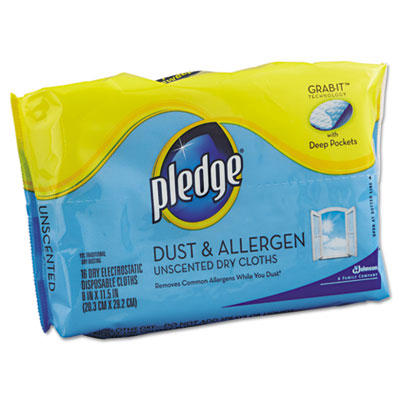 Pledge GRAB-IT Dust & Allergen Dry Refill Cloths