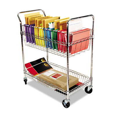 Alera Carry-all Cart/Mail Cart