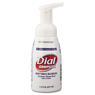 Dial Complete Antimicrobial Foaming Hand Soap Pump Bottle