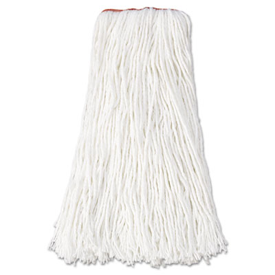 Rubbermaid Commercial Non-Launderable Premium Cut-End Rayon Mop Heads
