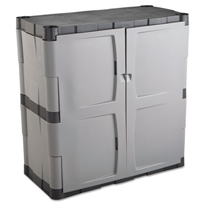 Rubbermaid Double-Door Storage Cabinet