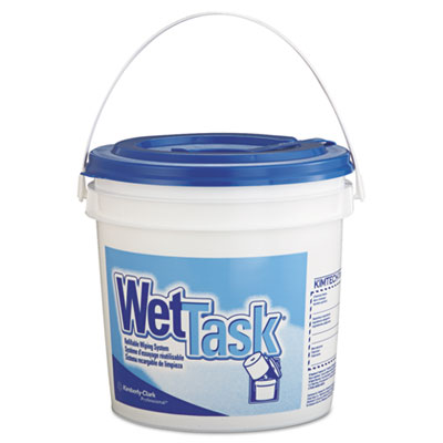 KIMBERLY-CLARK PROFESSIONAL* KIMTECH PREP* Wipers for the WETTASK* System, for Solvents