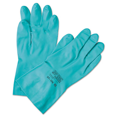 AnsellPro Sol-Vex Sandpatch-Grip Nitrile Gloves