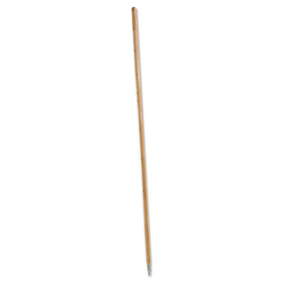 Boardwalk Metal Tip Threaded Hardwood Broom Handle