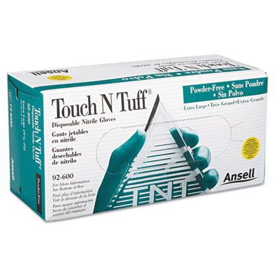 AnsellPro Touch N Tuff Nitrile Gloves