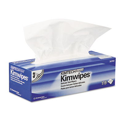 KIMBERLY-CLARK PROFESSIONAL* KIMTECH SCIENCE* KIMWIPES* Delicate Task Wiper