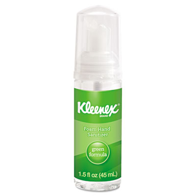 KIMBERLY-CLARK PROFESSIONAL* KLEENEX Green Certified Foam Hand Sanitizer