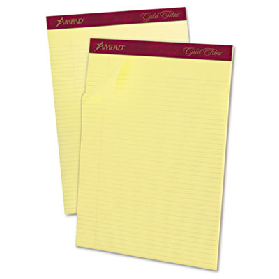 Ampad Gold Fibre 16-lb. Watermarked Writing Pads