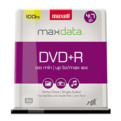 Maxell DVD+R High-Speed Recordable Disc