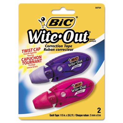 BIC Wite-Out Brand Mini Twist Correction Tape