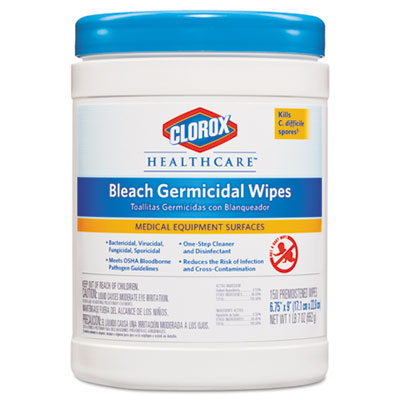 Clorox Healthcare Germicidal Wipes