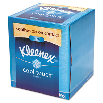 KIMBERLY-CLARK PROFESSIONAL* KLEENEX Cool Touch Facial Tissue