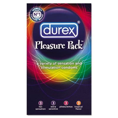 Durex Pleasure Pack Condoms