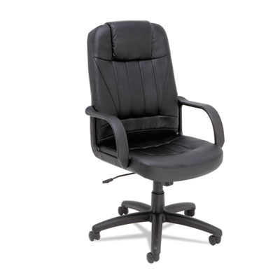 Alera Sparis Executive High-Back Swivel/Tilt Leather Chair