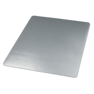 Universal Cleated Chair Mat for Low Pile Carpets