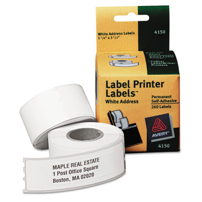 Avery Self-Adhesive Labels for PC Label Printers