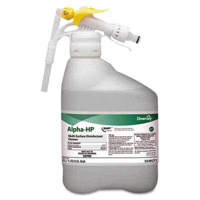 Diversey Alpha-HP Concentrated Multi-Surface Cleaner