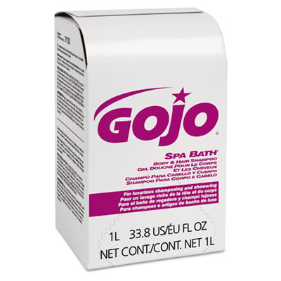 GOJO Spa Bath Body and Hair Shampoo Refill