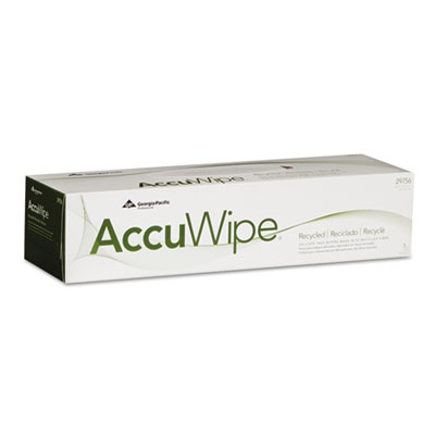 Georgia Pacific Professional AccuWipe Recycled Delicate Task Wipers
