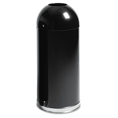 Rubbermaid Commercial Fire-Resistant Steel Dome Waste Receptacle