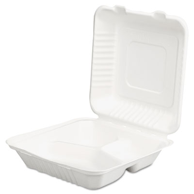 SCT ChampWare Molded-Fiber Clamshell Containers