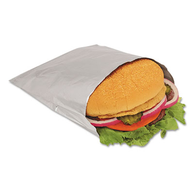 Bagcraft Papercon Paper-Laminated Foil Hot Dog Bags