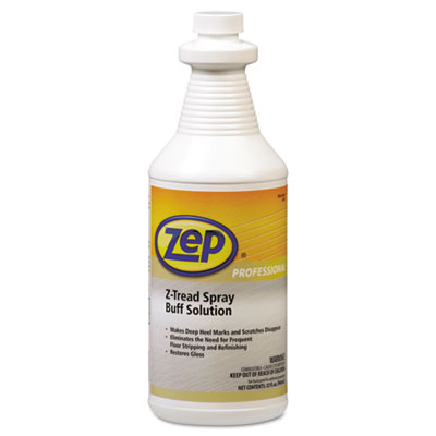 Zep Professional Z-Tread Buff-Solution Spray